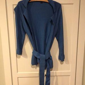 Boden Cotton Cashmere blend cardigan wrap women 6